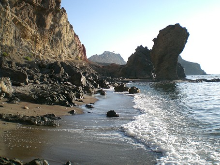 Virgin beach near Mojacar