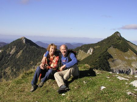 Georg und Susi am Dürlstein