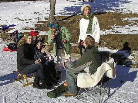 Seewaldsee Picknick am Eis