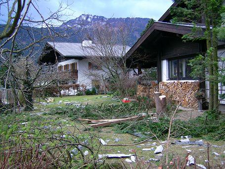Verwüstung im Garten von Jadorf 70