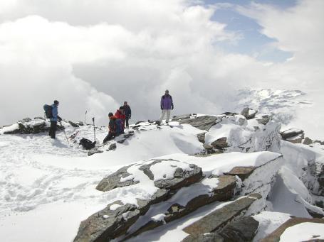 Gipfelfoto Mulhacen