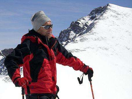 Georg vor dem Mulhacen