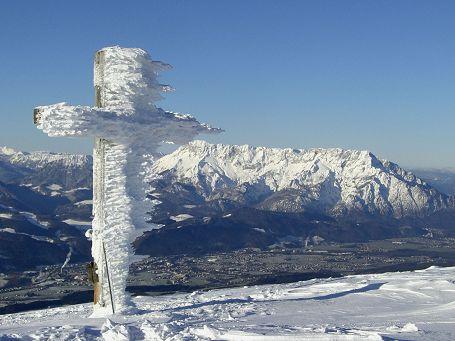 Gipfelkreuz am Schlenken