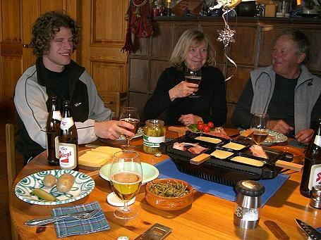 Raclette-Jause