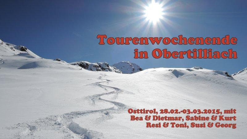Tourenwochenende in Obertilliach