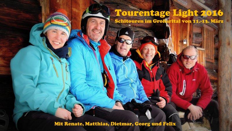 Das Cover-Foto zu den Tourentage Light entstand auf der Karteisalm