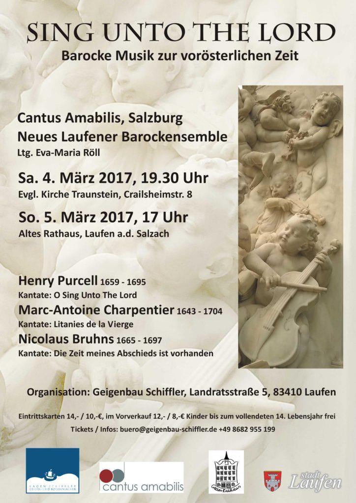 Plakat Cantus Amabilis